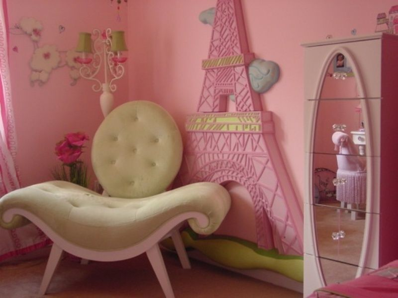 Paris Girls Room Decor | Makrillarna.Com