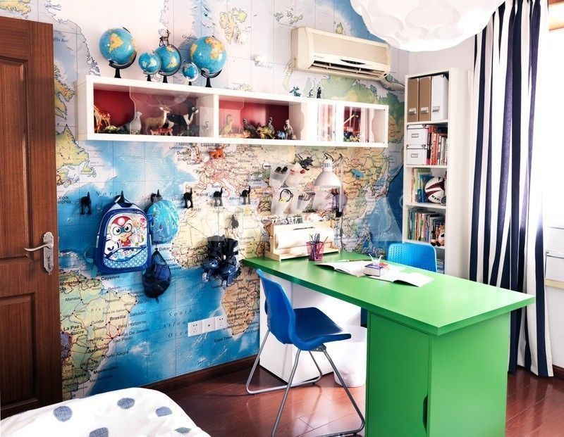 Travel-Themed Rooms to Satisfy Your Wanderlust