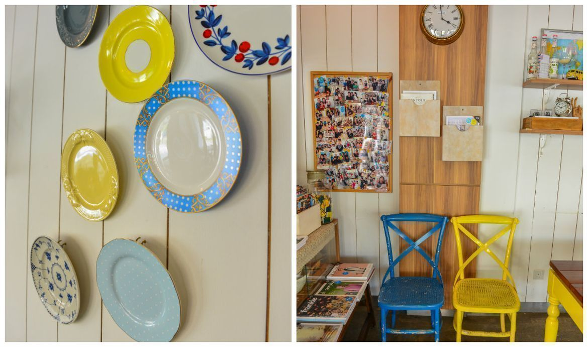 vintage, retro and fun plating, tablewares and furnitures at W39 bistro and bakery