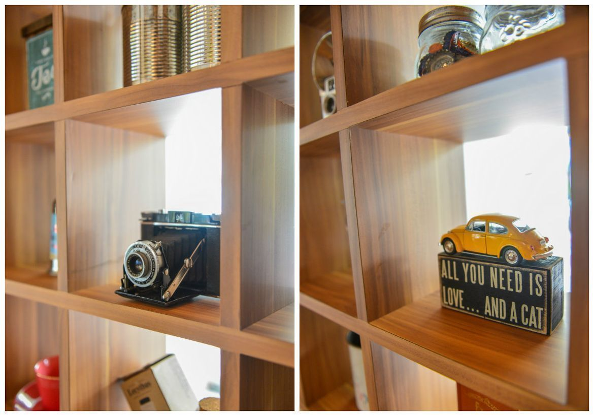 retro display ornaments at W39 Bistro & Bakery in Singapore