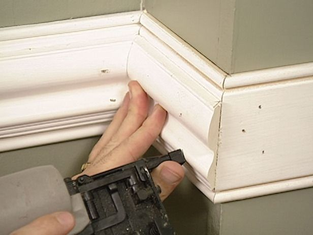 home improvement ideas of installing wall trim and mouldings