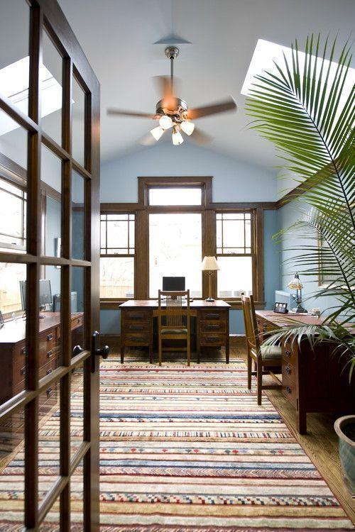 using wood trim as a decorative element. Black Bedroom Furniture Sets. Home Design Ideas