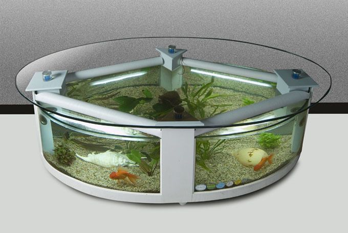 Thereu0027s No Way Your Guests Will Miss An Aquarium Replete With Dancing Sea  Creatures In Your Living Room. Itu0027s Also A Great Way To De Stress When  Youu0027re ...