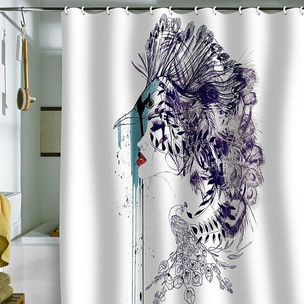 Shower curtains that let your personality shine urtaz Choice Image