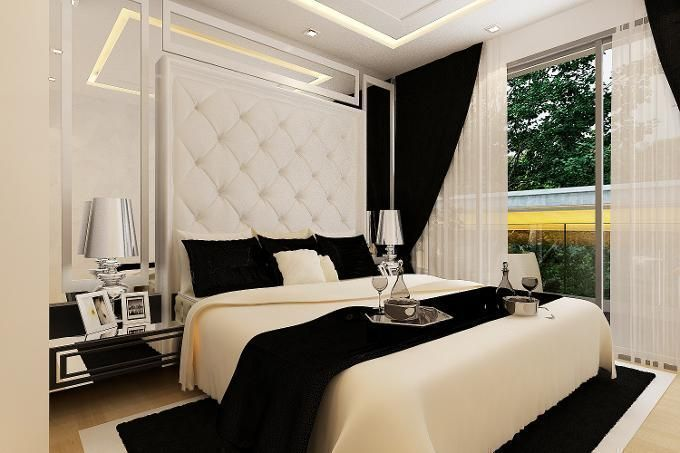 10 B&W Bedrooms That Will Make You Reconsider Your Colour Combo Choice