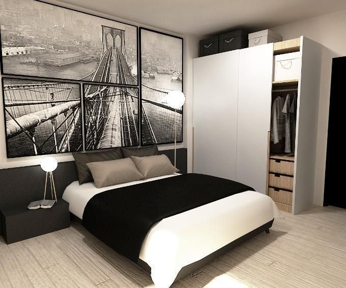 Bedroom Wallpaper Singapore Bedroom Interior According To Vastu New Bedroom Colors For 2015 Bedroom Top View: 10 B&W Bedrooms That Will Make You Reconsider Your Colour