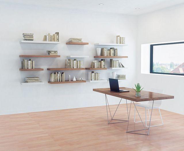 10 Classy Contemporary Bookshelves