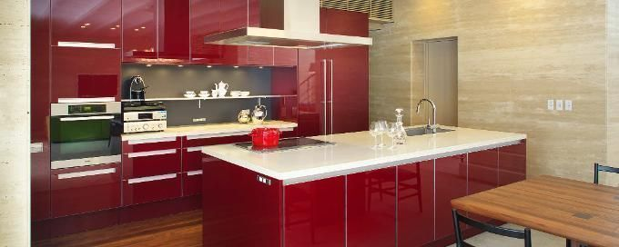 Feel good colour scheme for the rooms in your home for Kitchen set video in hindi