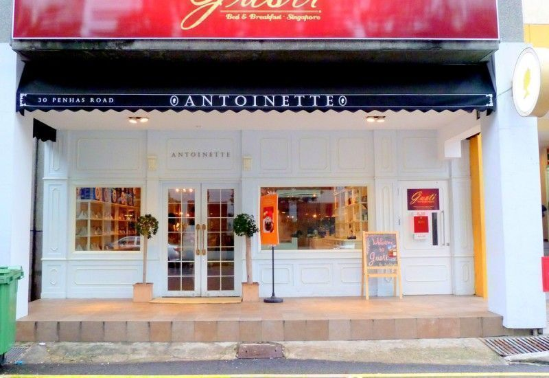 antoinette cafe penhas road is classic and elegant