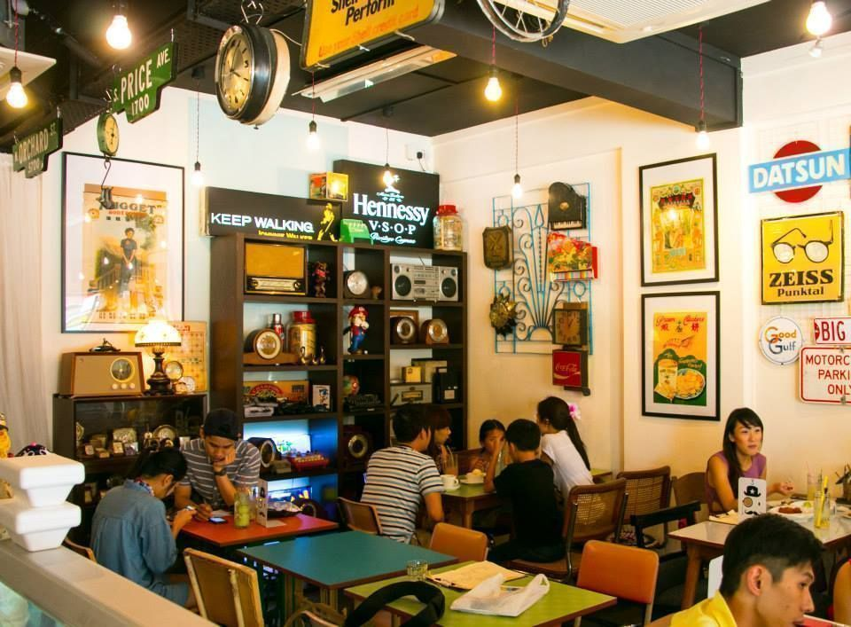 old habits is a vintage style cafe at telok blangah