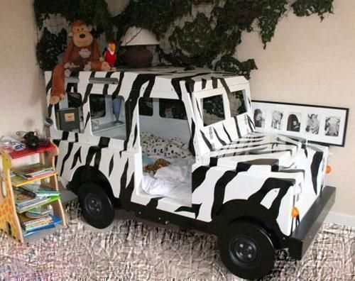 safari jungle animals theme bedroom for boys and girls