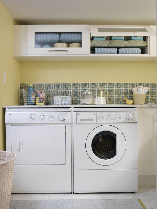 Video Laundry Room Storage Ideas