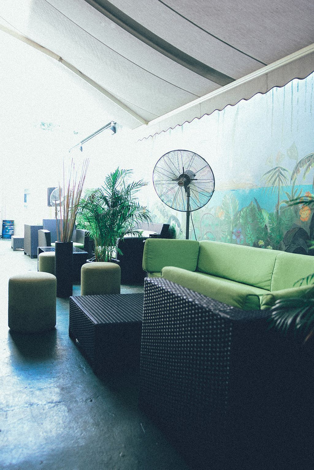 the lounge area of lime house singapore