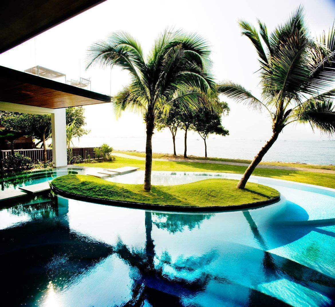 House Tour MillionDollar Home In Sentosa Cove - Incredible swimming pool cost 2000000