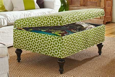 Multipurpose footrest, storage, seat and coffee table