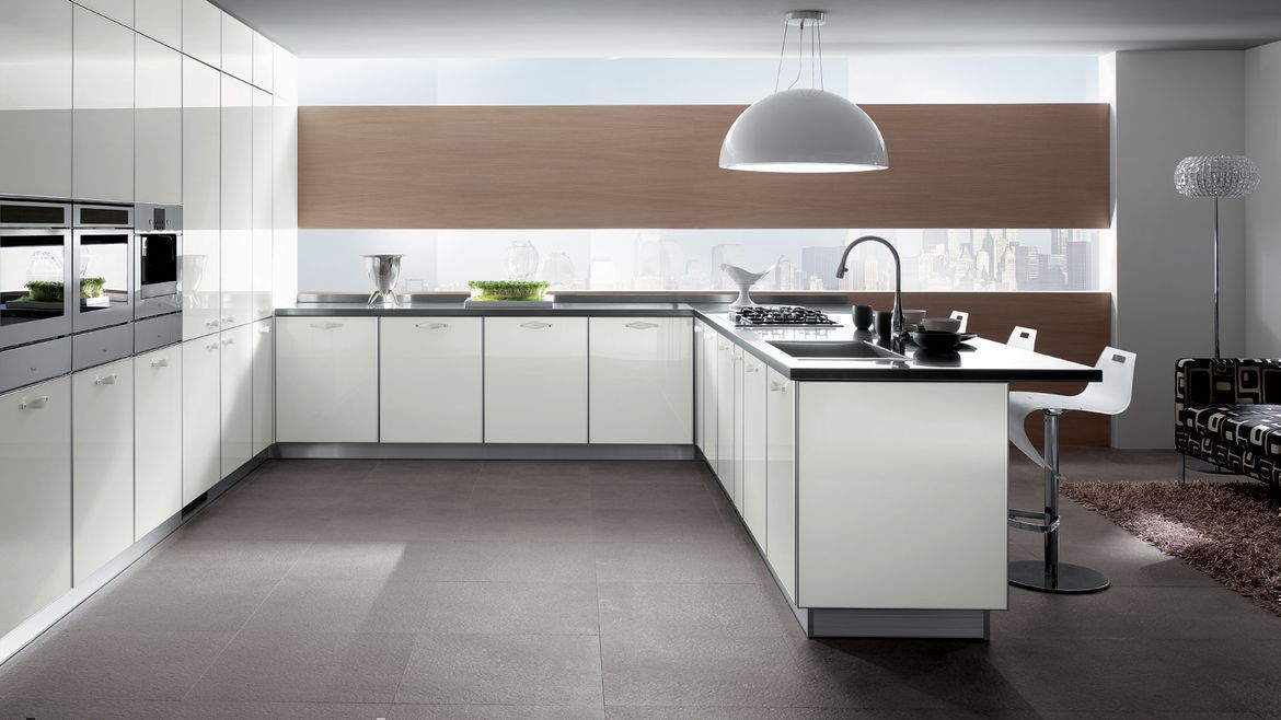Trendy Designs for Open Kitchens