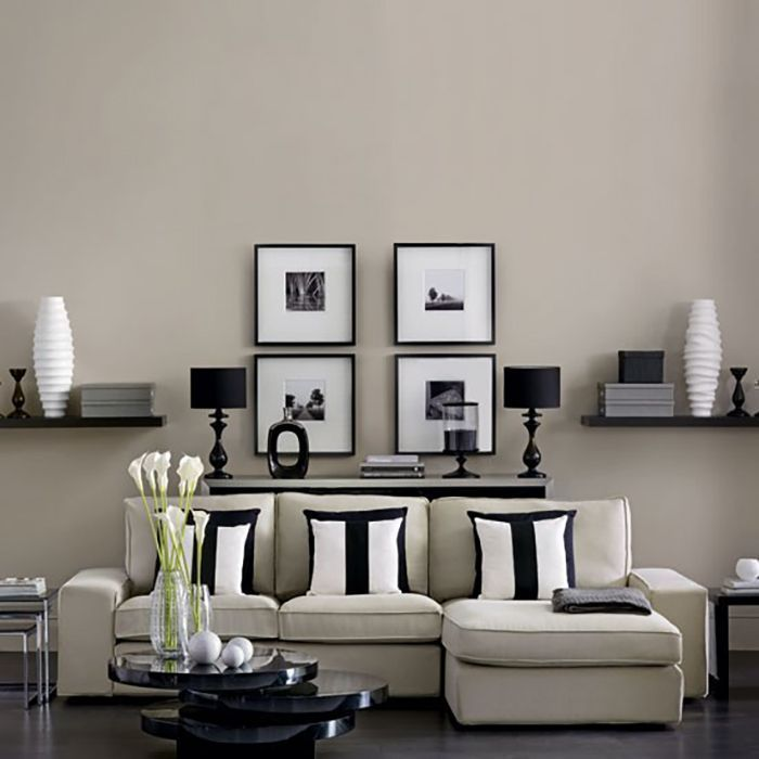 Source Source A living room in black
