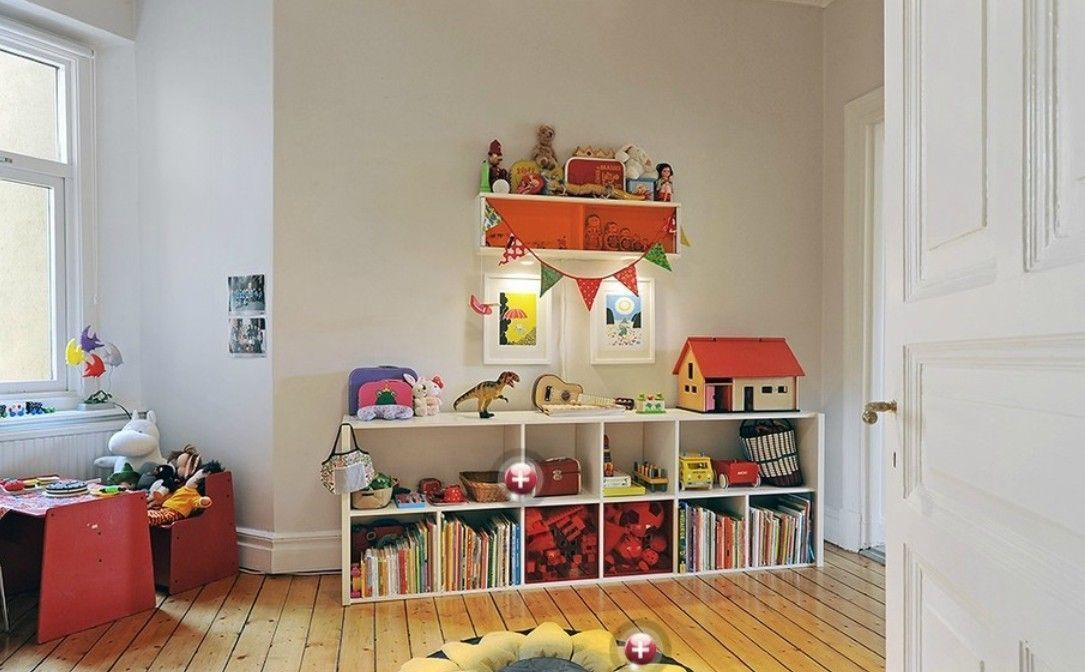 10 Cool Ideas for Your Kids' Playroom
