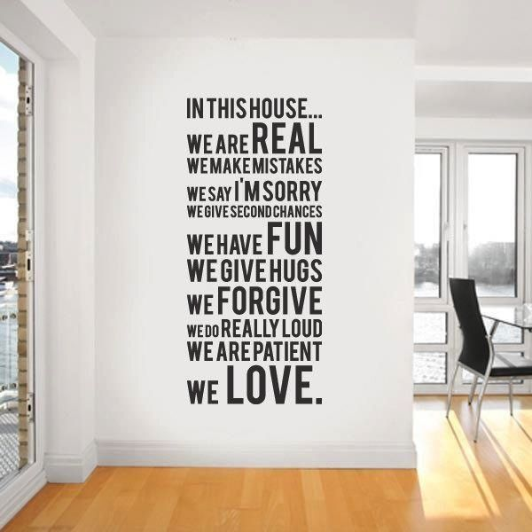 wall stickers with words add instant fun into the house