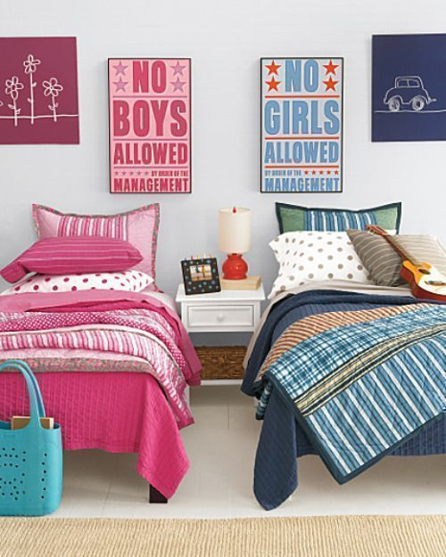 Sibling Revelry: 9 Shared Bedroom Ideas