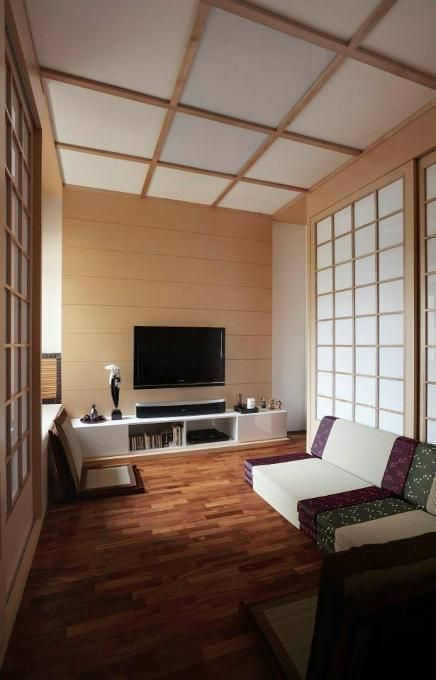 To Connect Their Living Spaces With The Natural World Japanese Use These Types Of Materials Design By Idees Interior