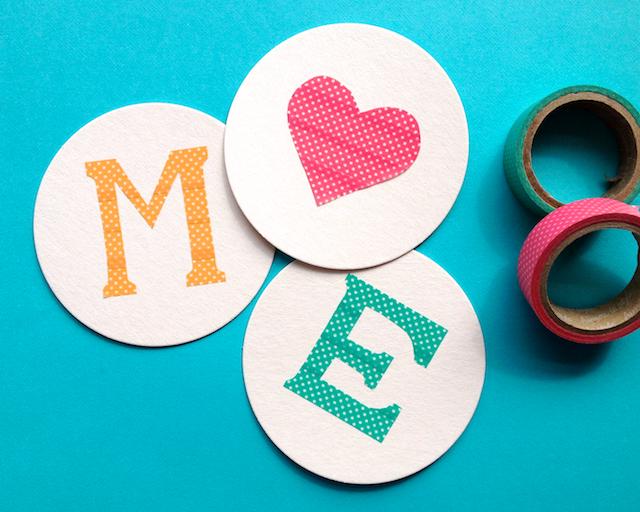 Video: DIY Monogrammed Coasters