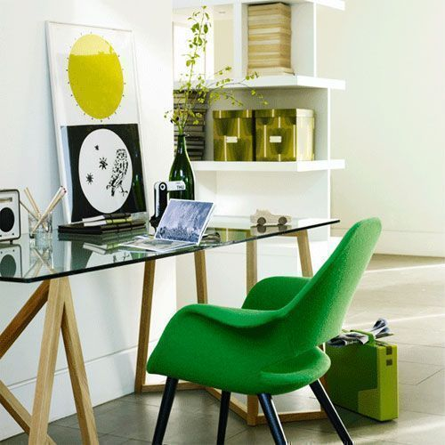 fun and bright colours for your work desk at home