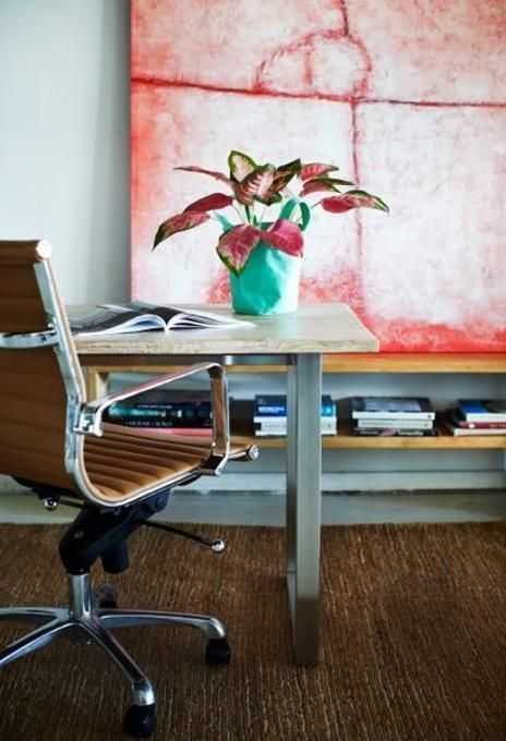invest in a good ergonomic chair for your home office