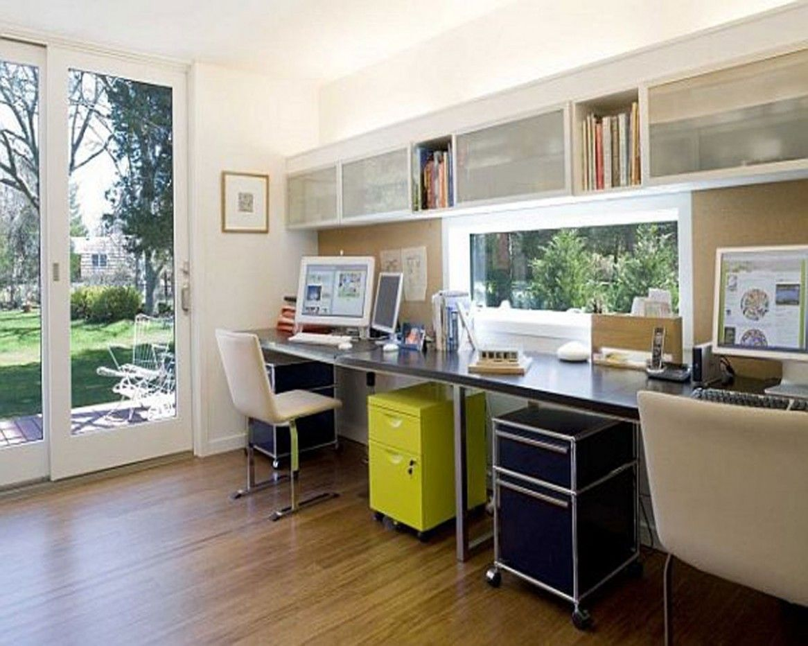 decorate your home office into a stylish and neat space