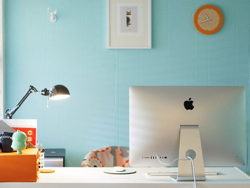 creating home office at your apartment
