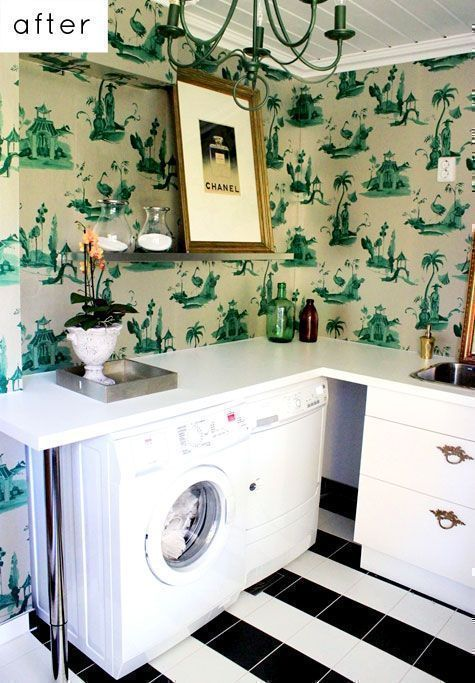 Clever Laundry Room Design Ideas on bathroom with tile shower designs, bathroom with tile floor designs, kitchen room designs, bathroom with walk in closet designs, bathroom with fireplace designs, bathroom laundry room layout, bathroom with outdoor kitchen designs, bathroom with marble countertops, bathroom with jacuzzi designs,
